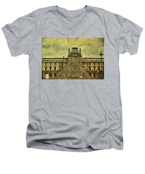 Classic Contradiction Men's V-Neck T-Shirt by Andrew Paranavitana