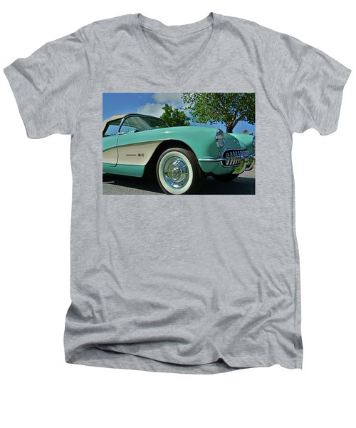 Classic Corvette Men's V-Neck T-Shirt