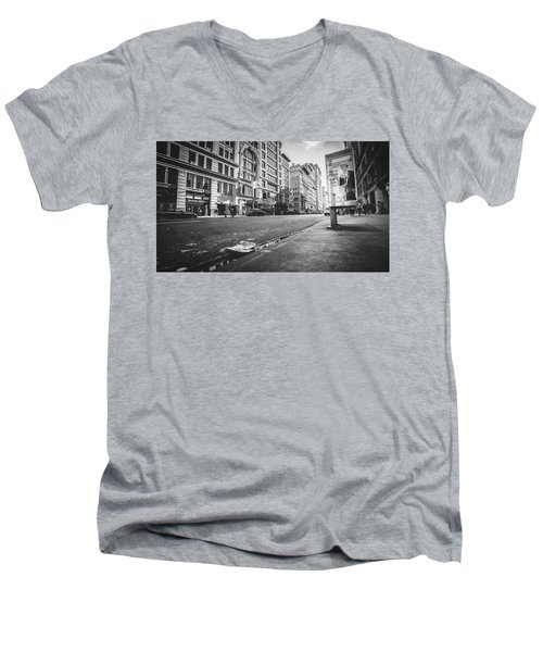 Classic During My Time Men's V-Neck T-Shirt