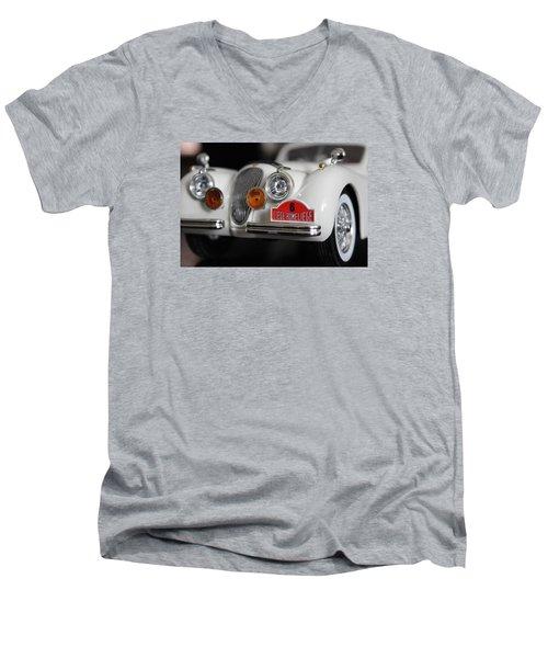 Classic Men's V-Neck T-Shirt by Jewels Blake Hamrick