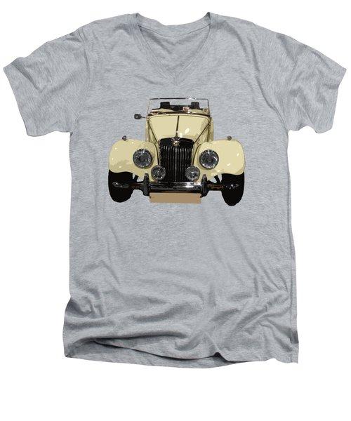 Classic Motor C Art Men's V-Neck T-Shirt