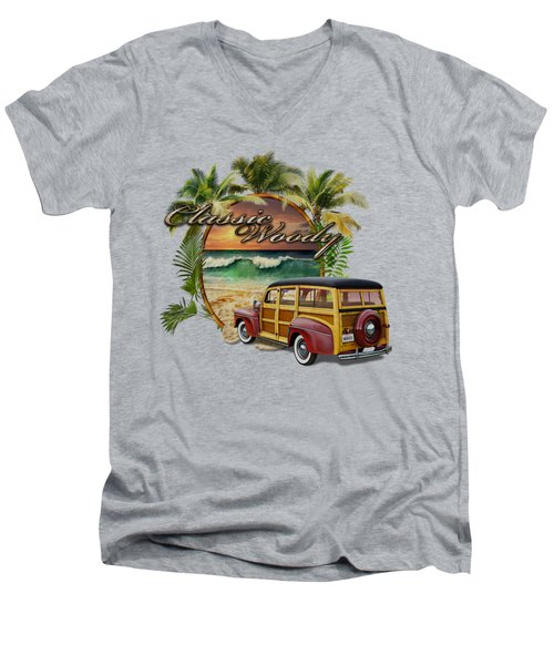 Classic Woody Men's V-Neck T-Shirt