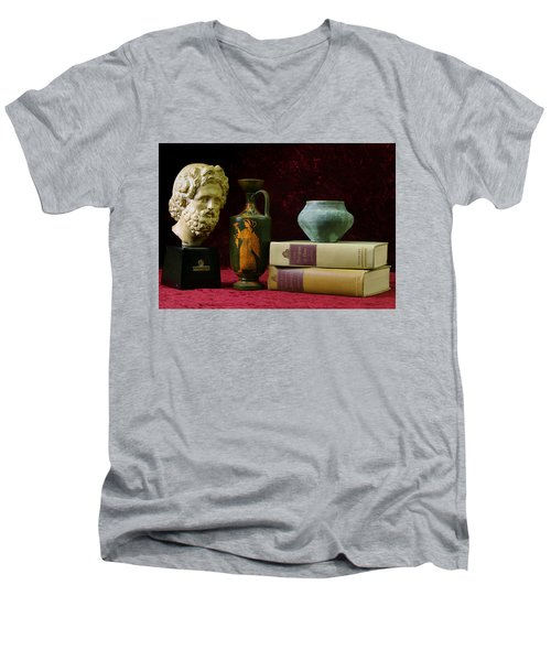 Classical Greece Men's V-Neck T-Shirt