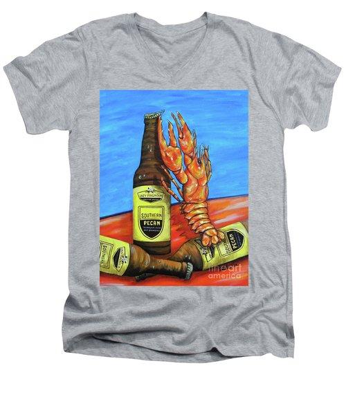 Claw Opener Men's V-Neck T-Shirt