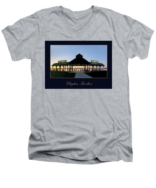 Clayton Pavilion Men's V-Neck T-Shirt