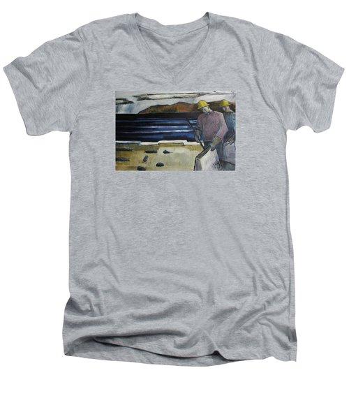 Cleanup Men's V-Neck T-Shirt