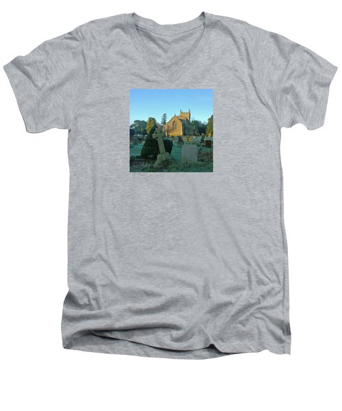 Clear Light In The Graveyard Men's V-Neck T-Shirt