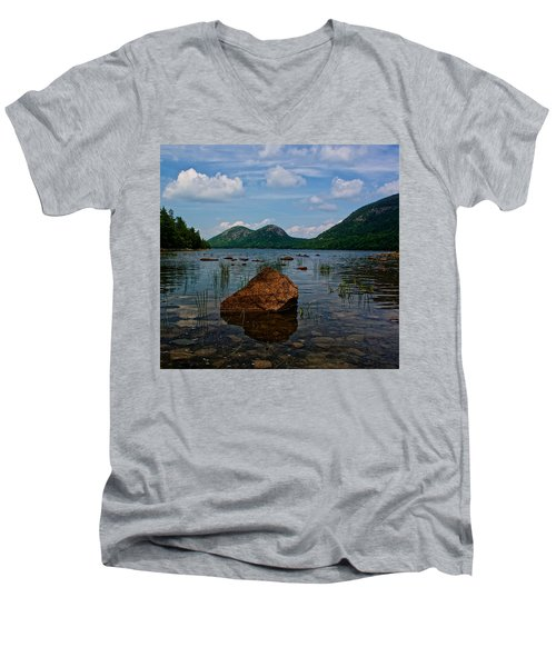 Clear Waters Men's V-Neck T-Shirt