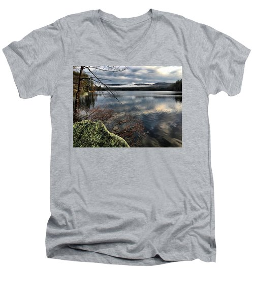 Clearing Sky Men's V-Neck T-Shirt by Betty Pauwels