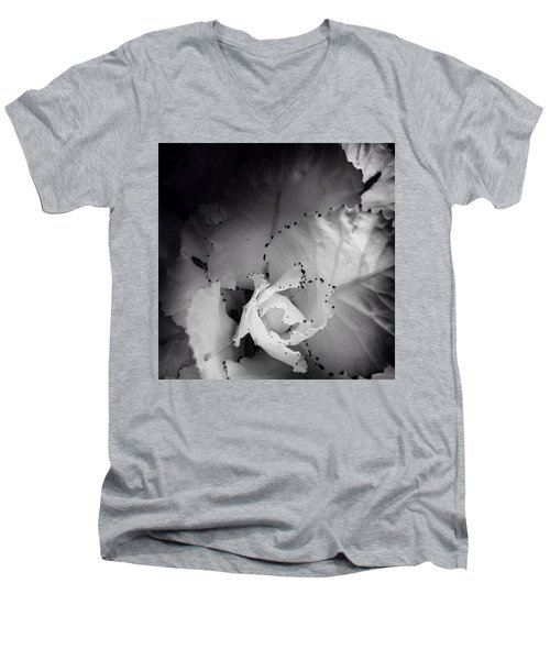 Clearly Bloomed Men's V-Neck T-Shirt