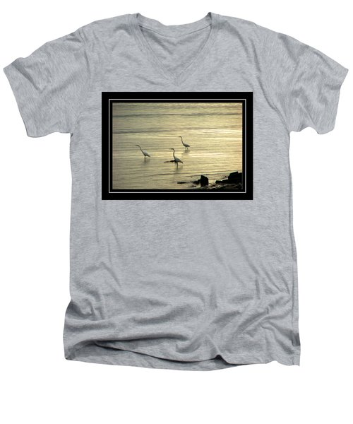 Clearwater Beach Men's V-Neck T-Shirt