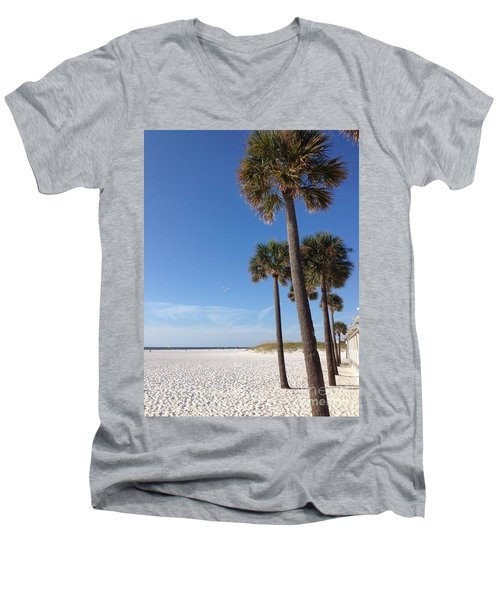 Clearwater Palms Men's V-Neck T-Shirt