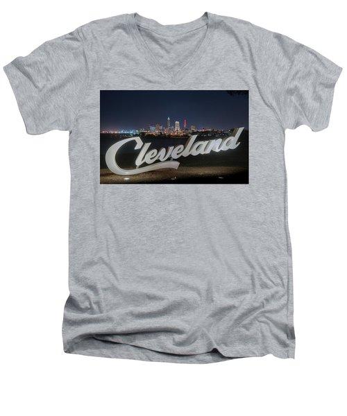 Cleveland Pride Men's V-Neck T-Shirt