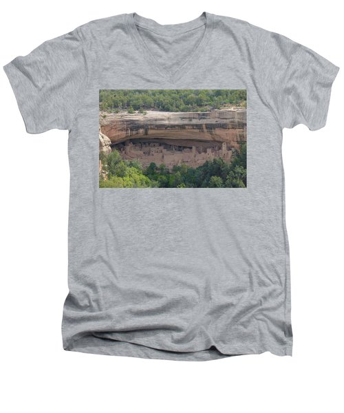 Cliff Palace Mesa Verde Men's V-Neck T-Shirt