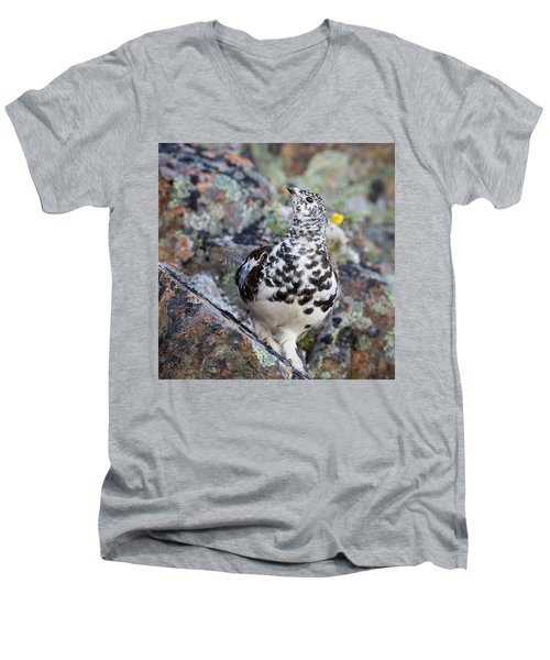 Cliffside Showoff Men's V-Neck T-Shirt