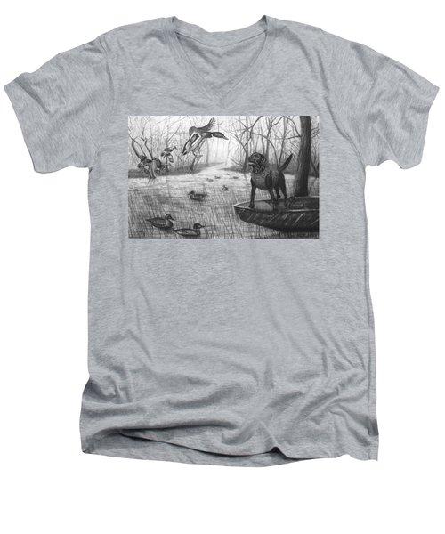 Cloaked Men's V-Neck T-Shirt