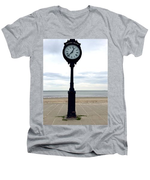 Clock 101 Men's V-Neck T-Shirt
