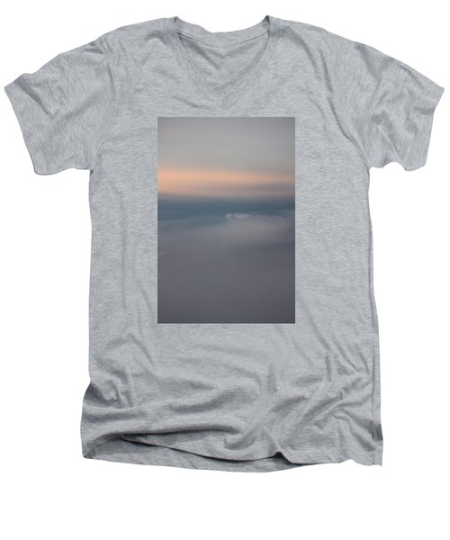 Cloud Abstract II Men's V-Neck T-Shirt by Suzanne Gaff