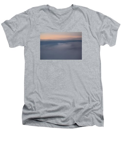 Cloud Abstract  Men's V-Neck T-Shirt by Suzanne Gaff