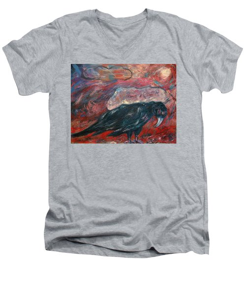 Cloud Carrier Men's V-Neck T-Shirt