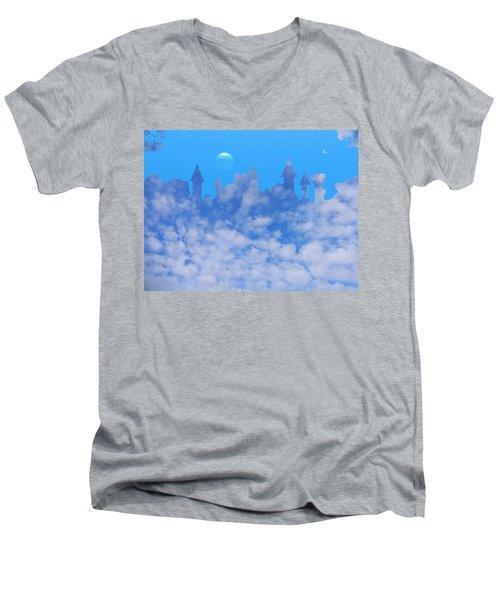 Cloud Castle Men's V-Neck T-Shirt