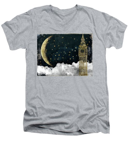Cloud Cities London Men's V-Neck T-Shirt