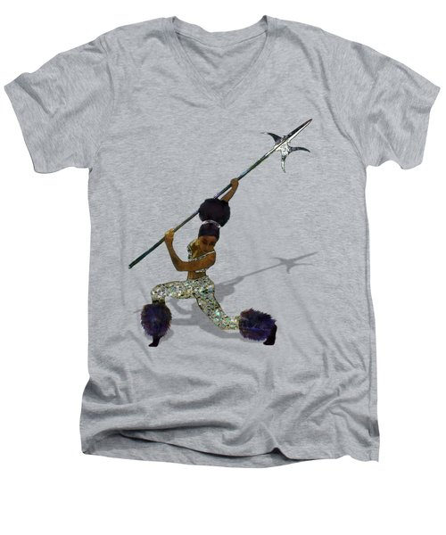 Cloud Dancer A Capella Men's V-Neck T-Shirt