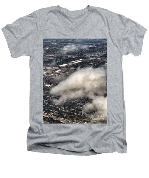 Cloud Dragon Men's V-Neck T-Shirt