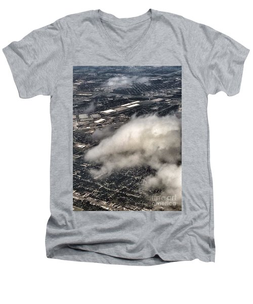 Cloud Dragon Men's V-Neck T-Shirt