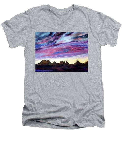 Cloud Movement Men's V-Neck T-Shirt