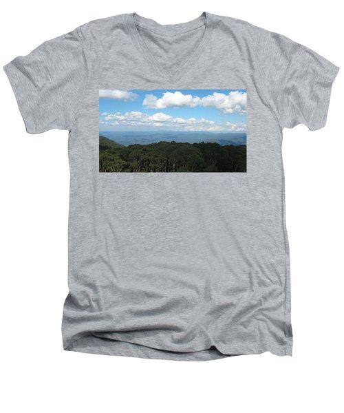 Cloud Shadows Men's V-Neck T-Shirt