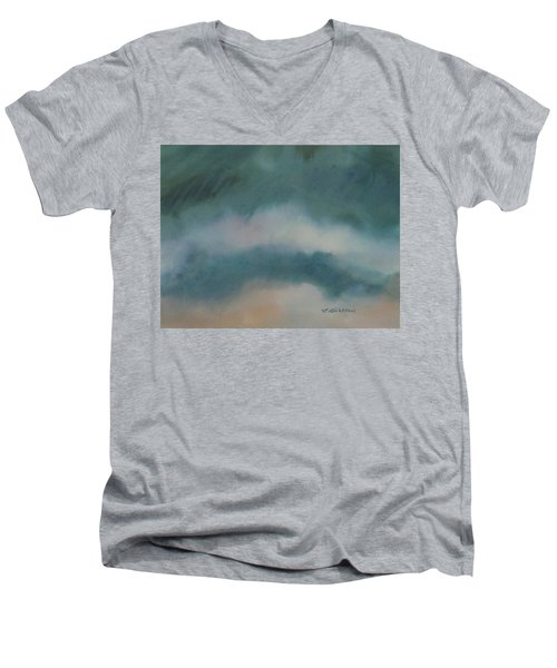 Cloud Study 1 Men's V-Neck T-Shirt