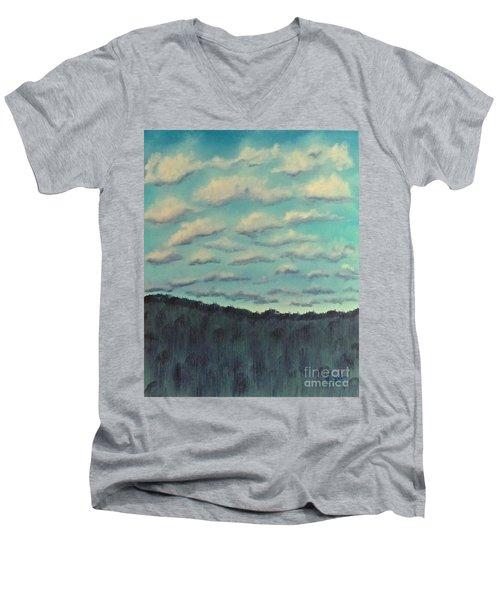 Cloud Study Men's V-Neck T-Shirt