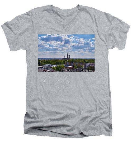 Cloud Ticklers Men's V-Neck T-Shirt