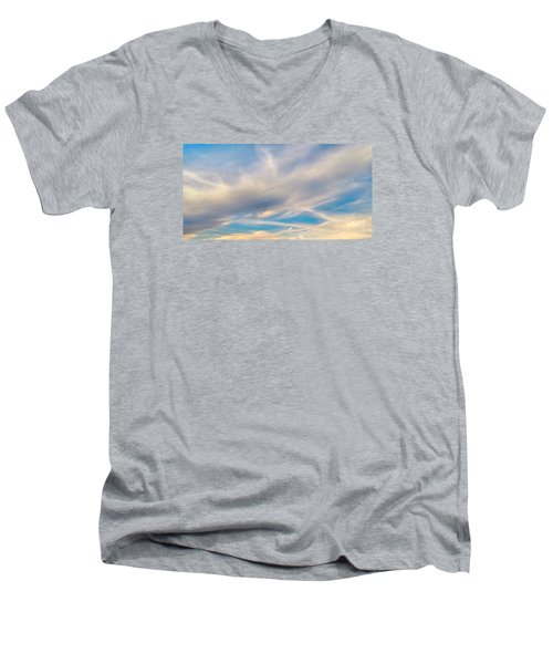 Cloud Wisps Men's V-Neck T-Shirt