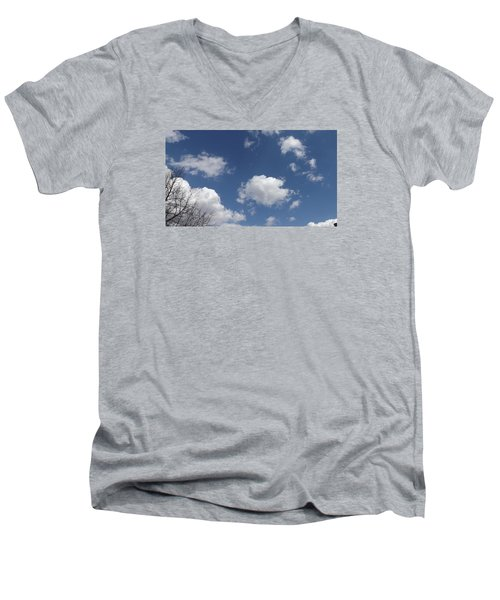 Men's V-Neck T-Shirt featuring the photograph Cloudbank 3 by Don Koester