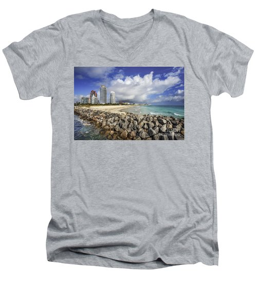 Cloudburst Men's V-Neck T-Shirt