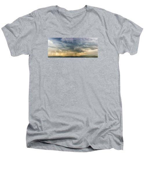 Storm Clouds - Blue Ridge Parkway Men's V-Neck T-Shirt