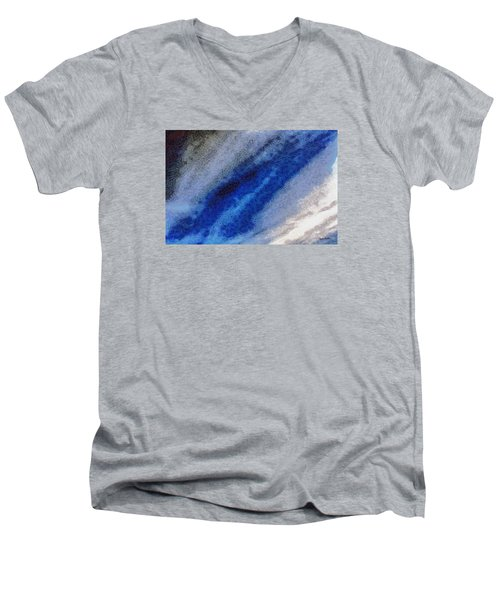 Men's V-Neck T-Shirt featuring the photograph Clouds 11 by Spyder Webb