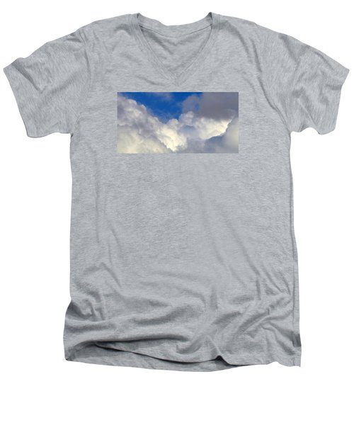 Clouds After The Rain Men's V-Neck T-Shirt