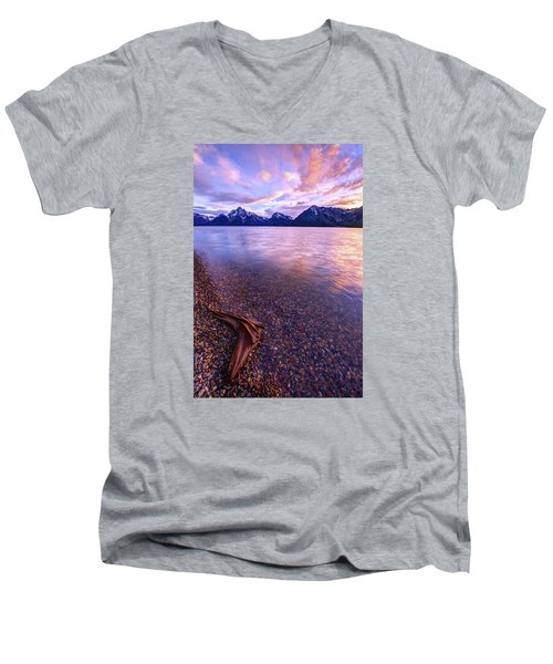 Clouds And Wind Men's V-Neck T-Shirt by Chad Dutson