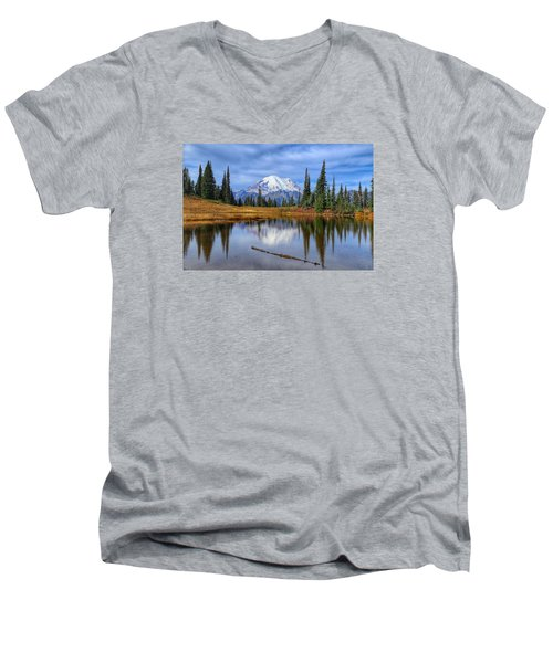 Clouds In The Morning Men's V-Neck T-Shirt