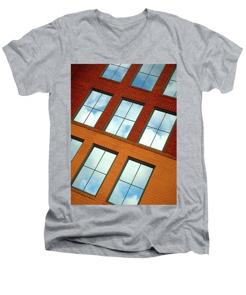 Clouds In The Windows Men's V-Neck T-Shirt