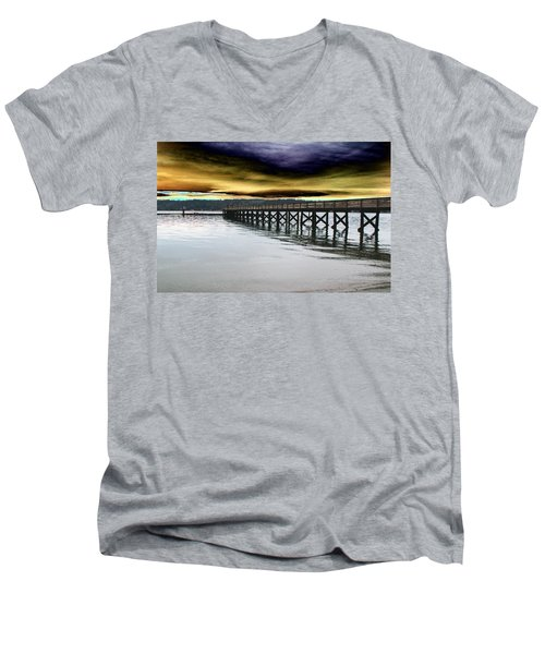 Clouds Over Illahee Men's V-Neck T-Shirt
