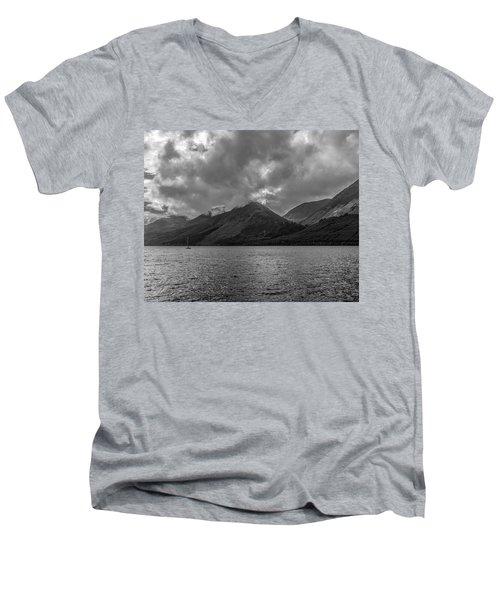Clouds Over Loch Lochy, Scotland Men's V-Neck T-Shirt