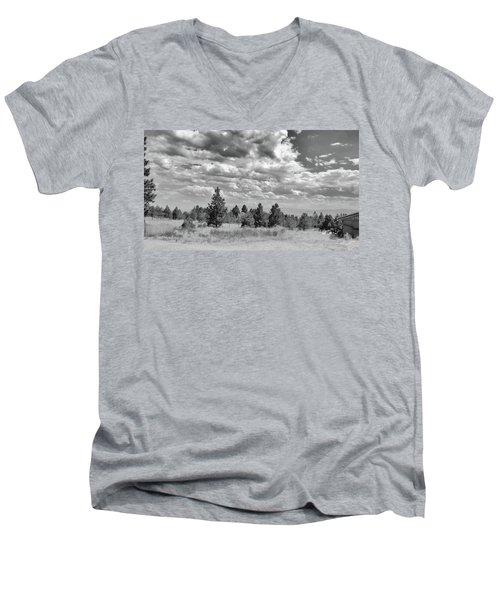 Clouds Roll In Men's V-Neck T-Shirt