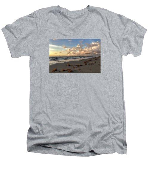 Cloudy Horizon  Men's V-Neck T-Shirt