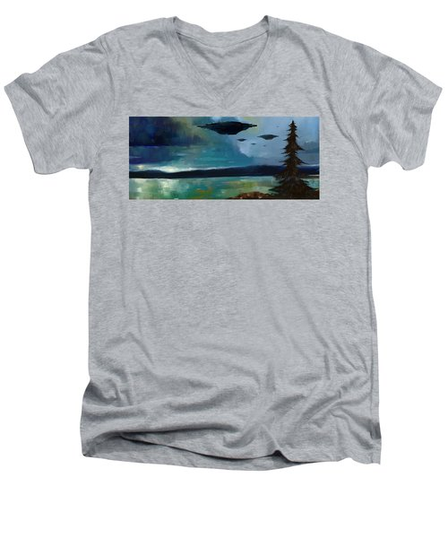 Cloudy Skies Men's V-Neck T-Shirt