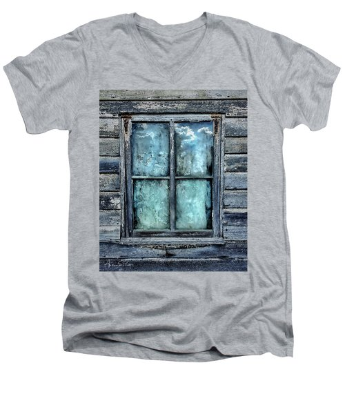 Cloudy Window Men's V-Neck T-Shirt