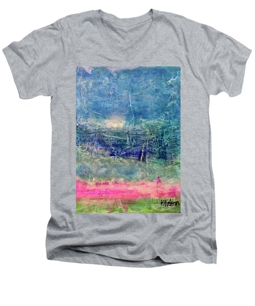 Clover Field Men's V-Neck T-Shirt